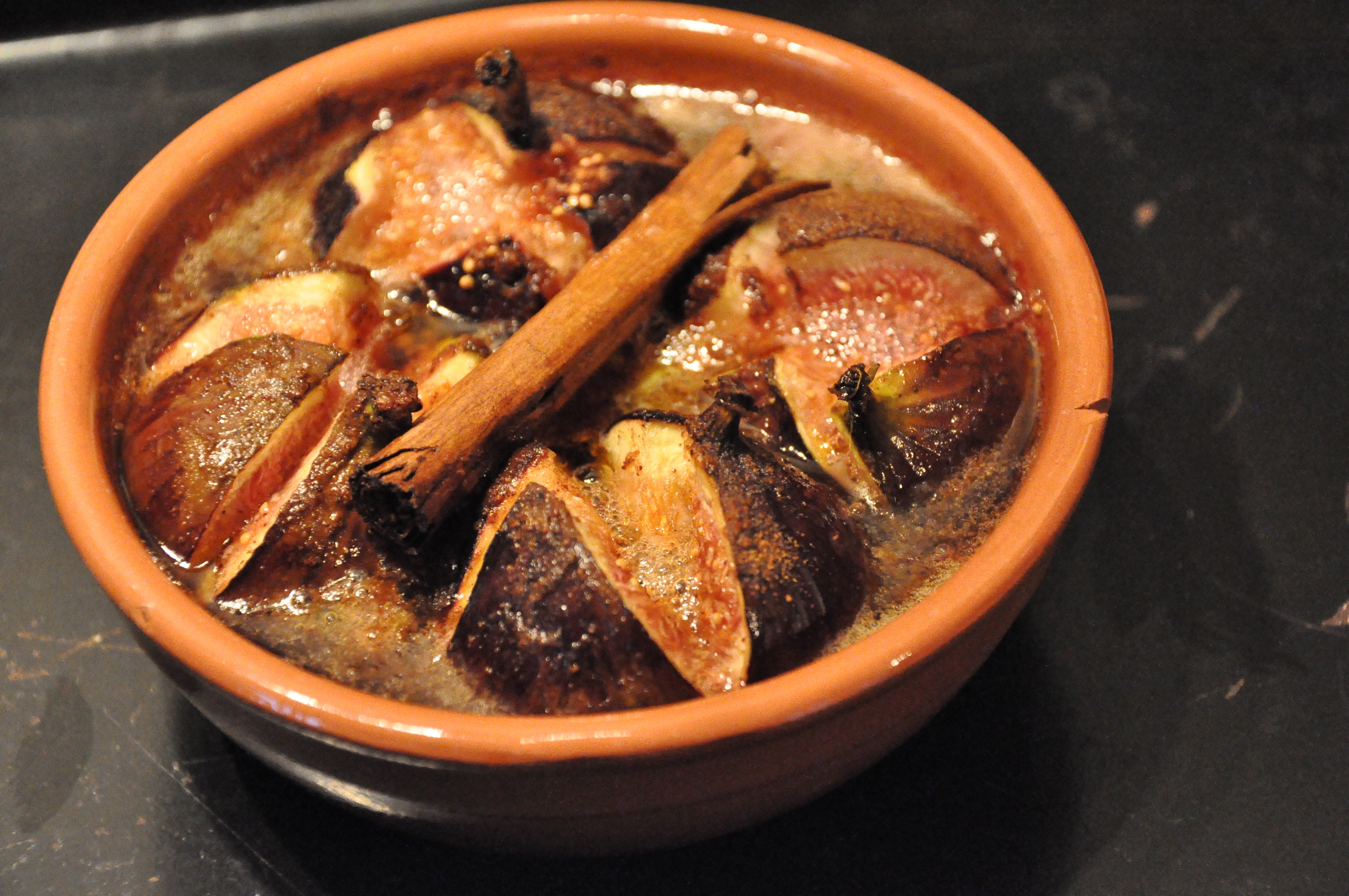 Honey Baked Figs With Ginger And Cinnamon Bryony S Kitchen