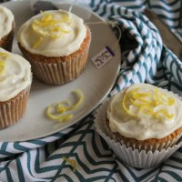 Earl Grey Cupcakes with Lemon Mascarpone Buttercream