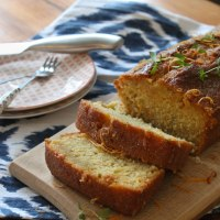 Pink Grapefruit & Thyme Drizzle Cake
