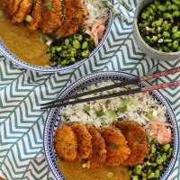Sweet Potato & Aubergine Katsu Curry Recipe