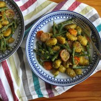 Pan-fried Gnocchi Recipe with Vegan Basil Pesto