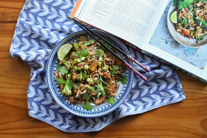 Meera Sodha's Peanut Butter & Purple Sprouting Broccoli Pad Thai