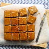 Sticky Marmalade Traybake Recipe