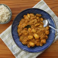 Potato & Butter Bean Curry Recipe